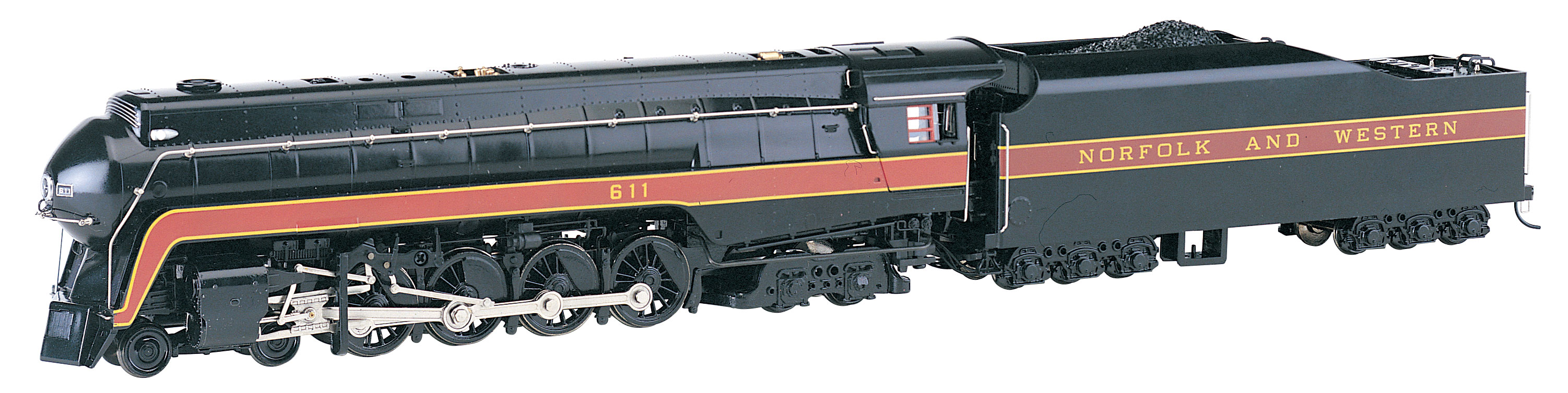Norfolk & Western 4-8-4 Class J #611- DCC Sound Value - HO Scale