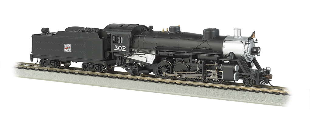 Western Pacific™ #302 Light 2-8-2 w/Medium Tender - DCC Ready(HO