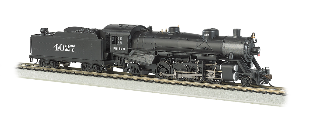 Frisco #4027 Light 2-8-2 w/Medium Tender - DCC Ready (HO Scale)