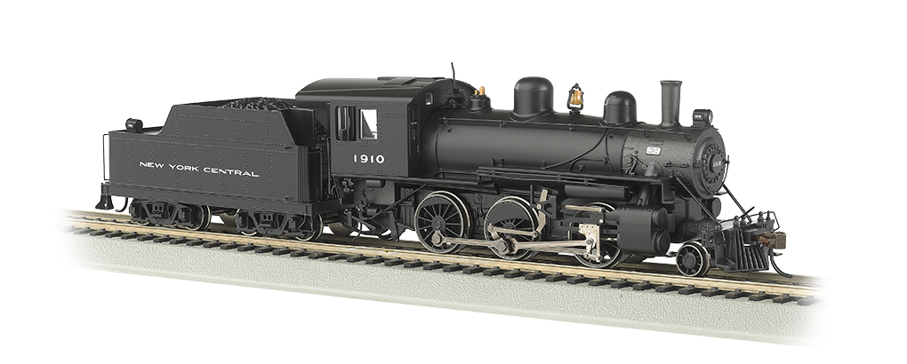 New York Central #1910 ALCO 2-6-0 - E-Z App® Train Control