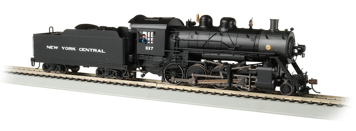 NYC #1137 Baldwin 2-8-0 Consolidation - DCC Sound Value