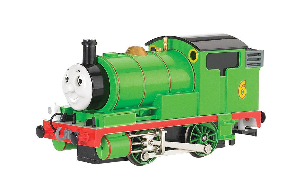 Percy the Small Engine (with moving eyes) (HO Scale) - Click Image to Close