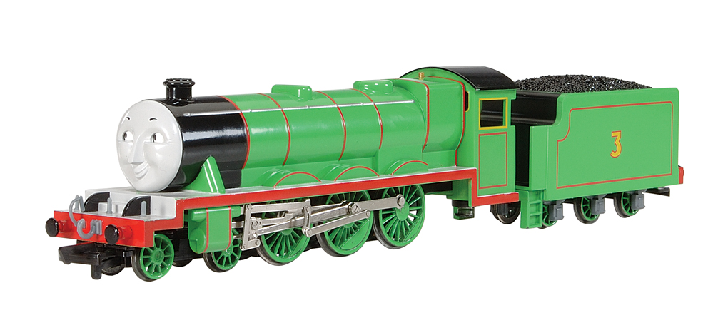 Henry the Green Engine (with moving eyes) (HO Scale) - Click Image to Close