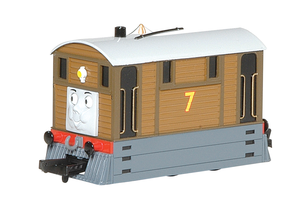 Toby the Tram Engine (with moving eyes) (HO Scale) - Click Image to Close