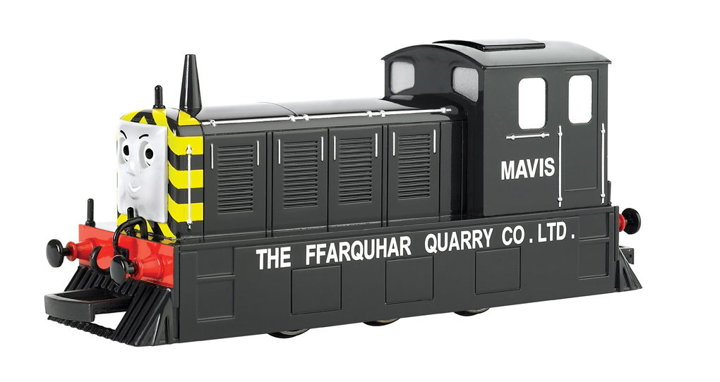 Mavis (with moving eyes) (HO Scale) - Click Image to Close