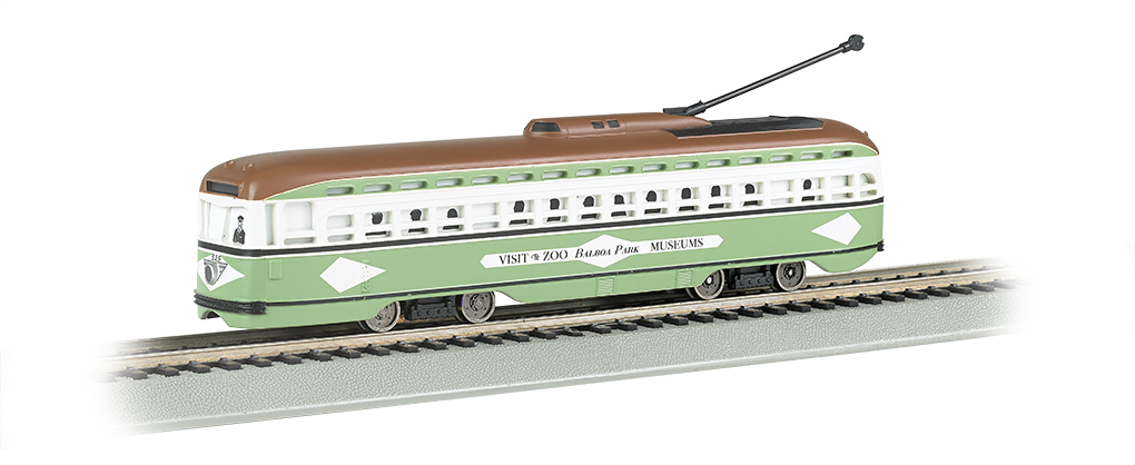 San Diego - PCC Streetcar DCC Sound Value (HO Scale)