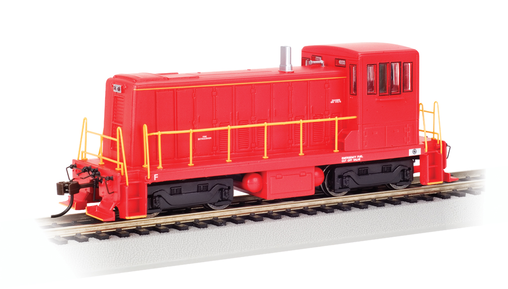 Painted Unlettered - Red - GE 70-Ton - DCC (HO Scale)