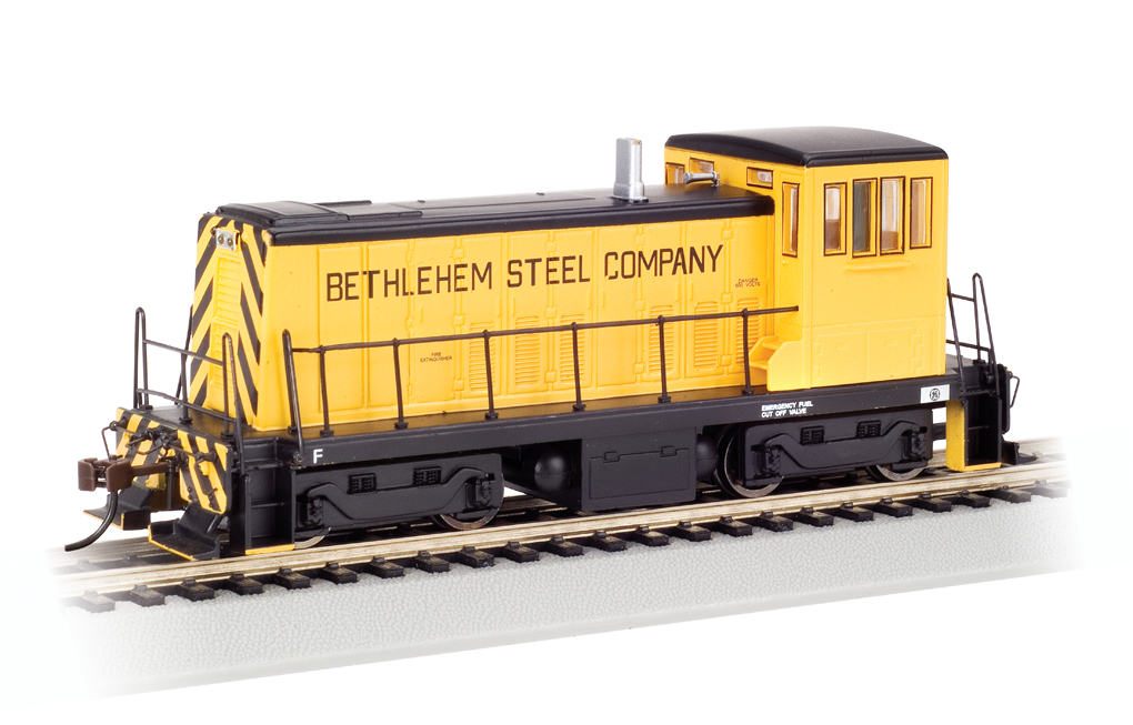 Bethlehem Steel- Yellow and Black - GE 70-Ton - DCC (HO Scale)
