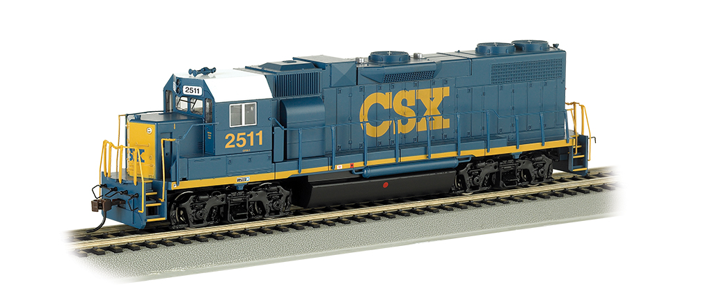 CSX® #2511 (Dark Future) - GP38-2 - DCC (HO Scale) - Click Image to Close