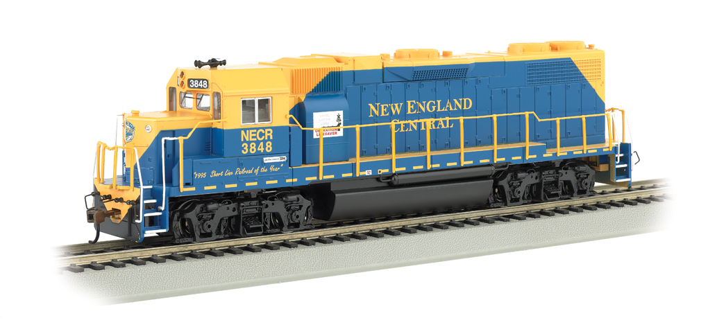New England Central #3848 - GP38-2 (HO Scale)