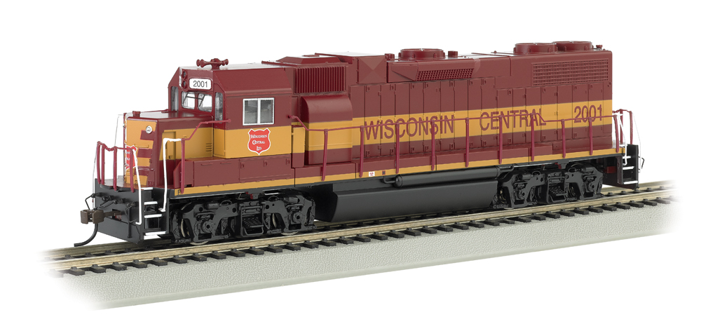 Wisconsin Central #2001 - GP38-2 (HO Scale)