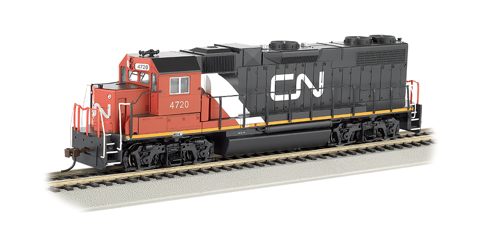 Canadian National #4720 - GP38-2 (HO Scale)