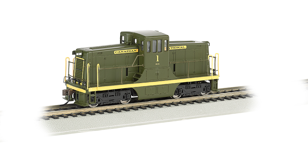Canadian National #1 - GE 44-Ton - DCC (HO Scale)