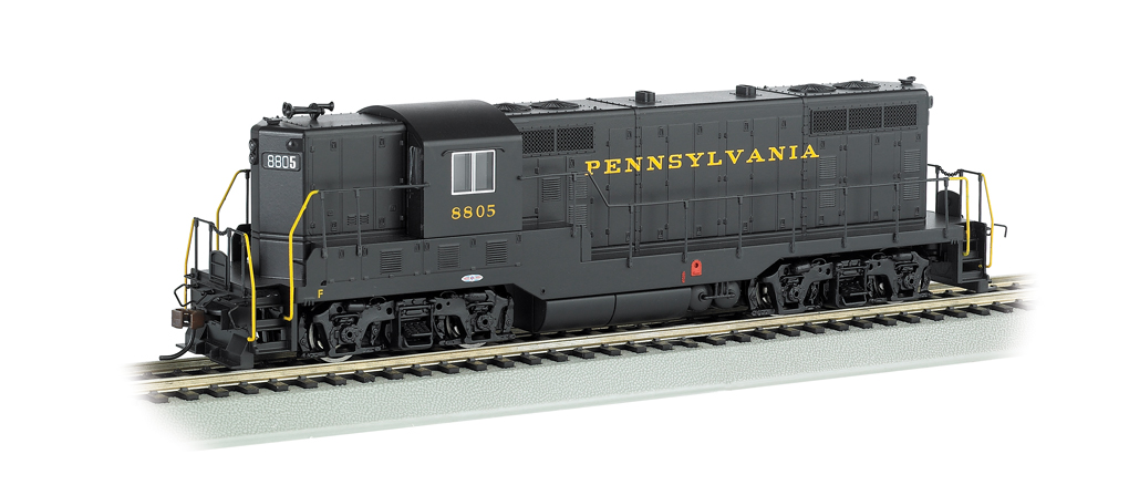 Pennsylvania #8805 - GP7 - DCC (HO Scale)