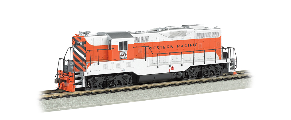 Western Pacific #709 - GP7 - DCC (HO Scale)