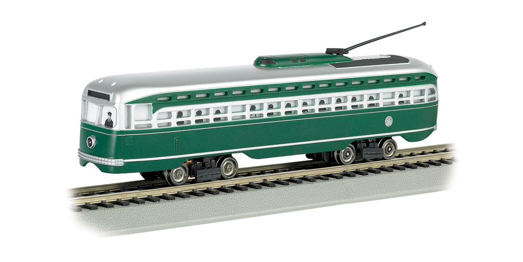 Brooklyn & Queens Transit - PCC Streetcar (HO Scale)
