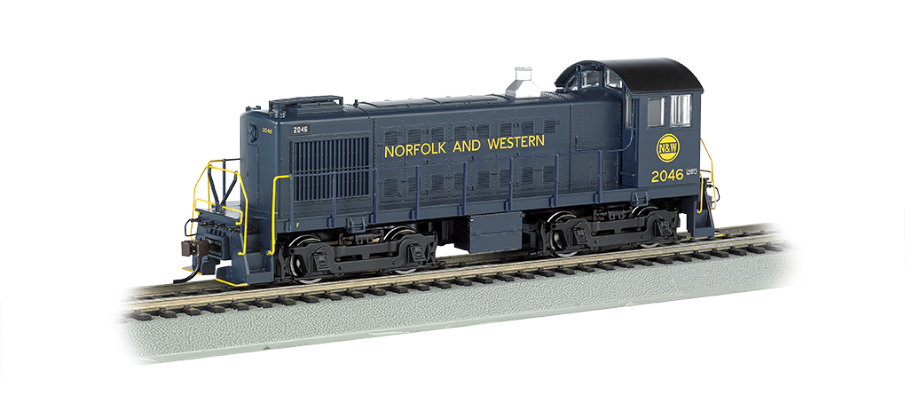 Norfolk And Western #2046 - ALCO S4 (HO Scale)