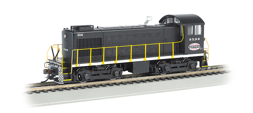 New York Central #8598 - ALCO S4 (HO Scale)