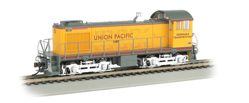 UP #1167 - Dependable Transportation - ALCO S4 (HO Scale)