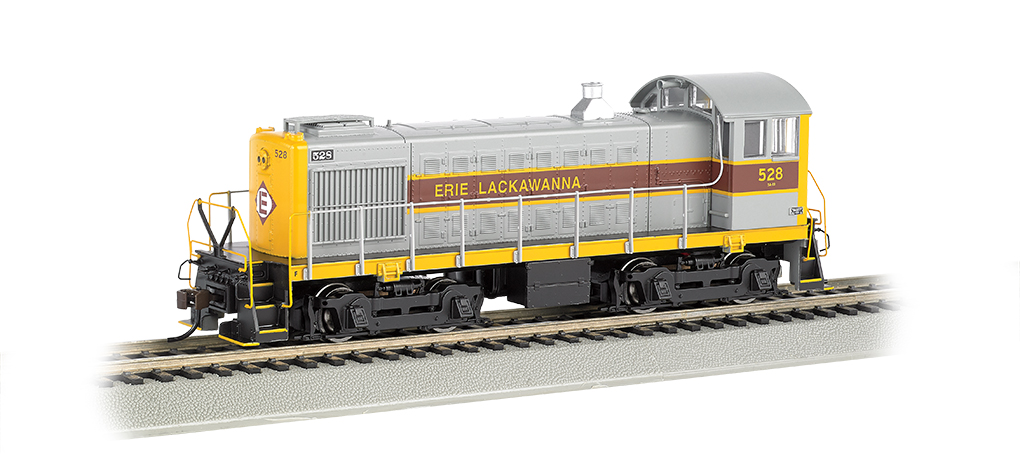 Erie Lackwanna #528- ALCO S4 - DCC Sound Value (HO Scale)