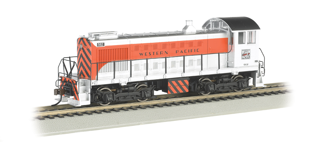Western Pacific #562 - ALCO S2 Switcher (HO Scale)