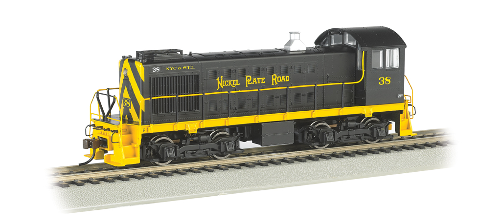 Nickel Plate #38 - ALCO S2 Switcher (HO Scale)
