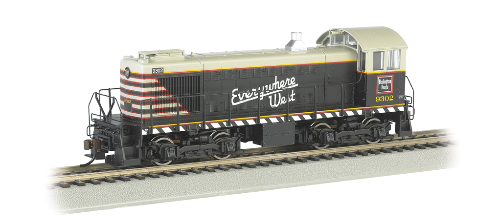 Chicago Burlington & Quincy #9302 - ALCO S2 Switcher (HO Scale)