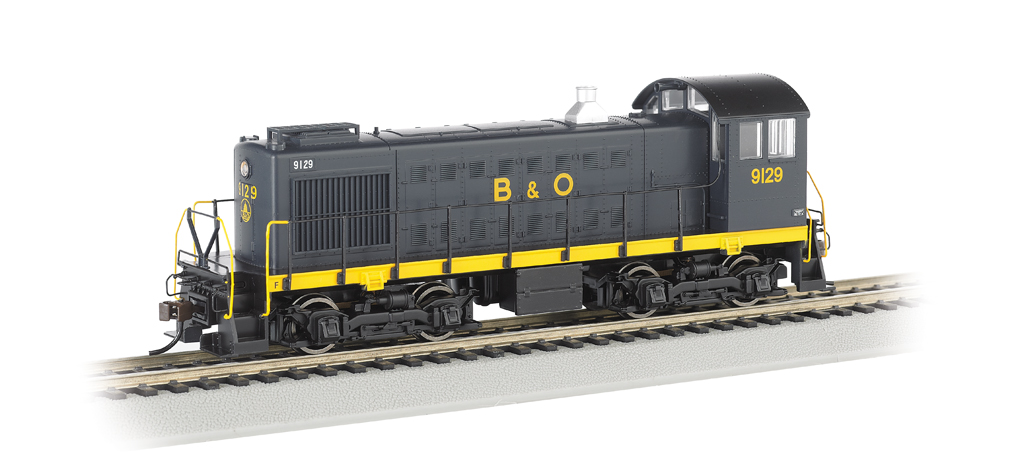 B&O® #9129 (Capitol Dome) - ALCO S2 - DCC Sound Value (HO Scale)