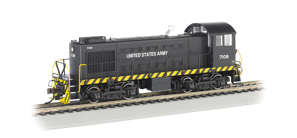 United States Army #7109 - ALCO S2 - DCC Sound Value