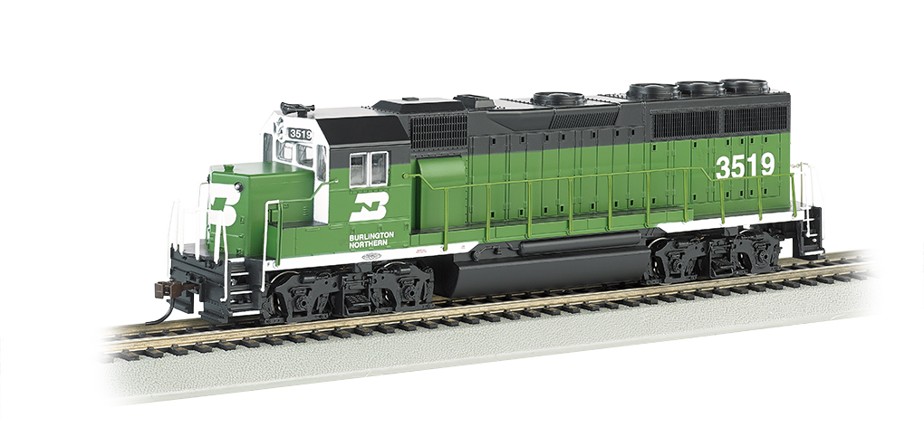 Burlington Northern #3519 - GP40