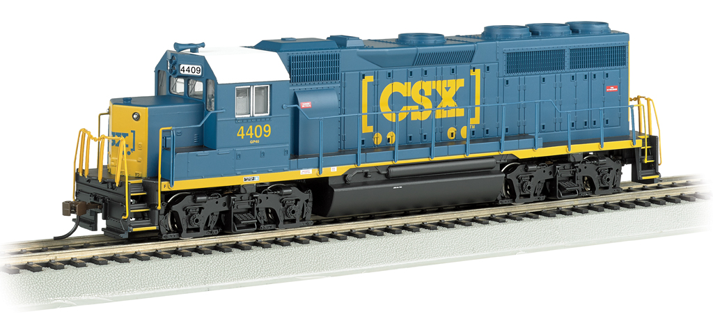 CSX® #4409 (Dark Future) - GP40