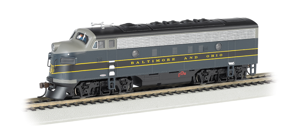 Baltimore & Ohio® - F7A (HO Scale)