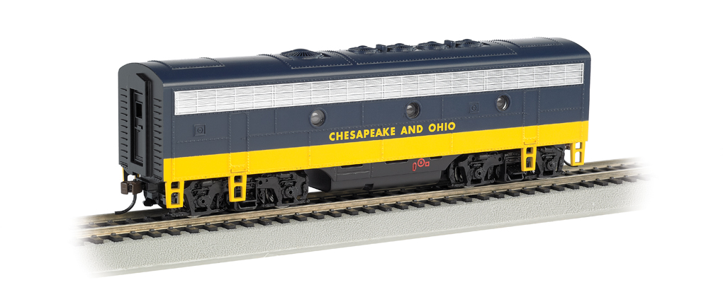 Chesapeake & Ohio® - F7B (HO Scale)