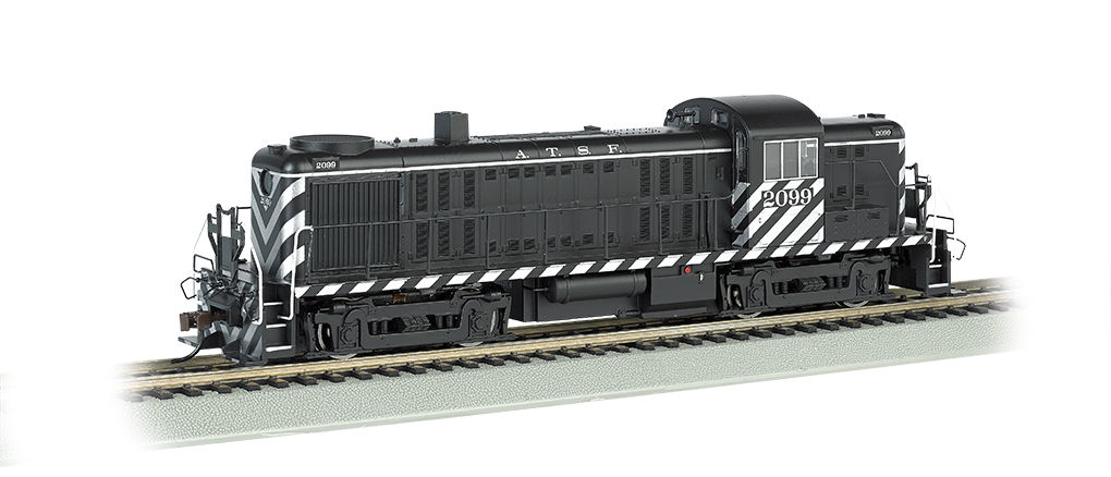 Santa Fe # 2099 - DCC Sound Value (HO ALCO RS-3)