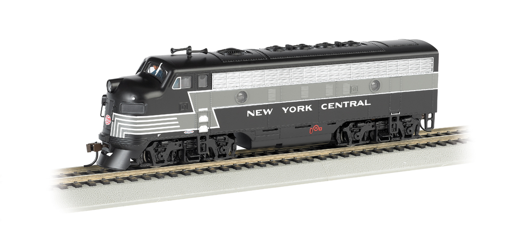 New York Central® (Lightning Stripe) - F7A-DCC Sound Value (HO)