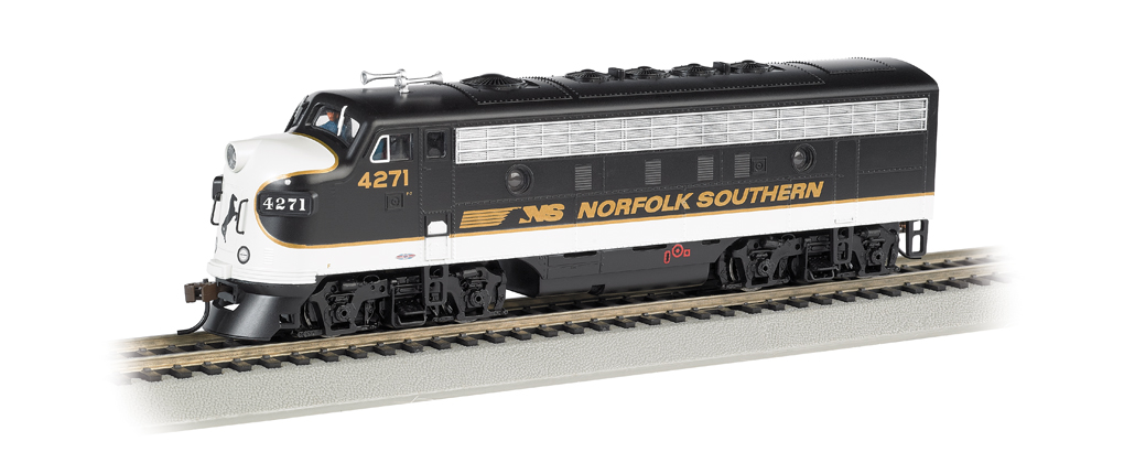Norfolk Southern #4271 - F7A - DCC Sound Value (HO Scale)