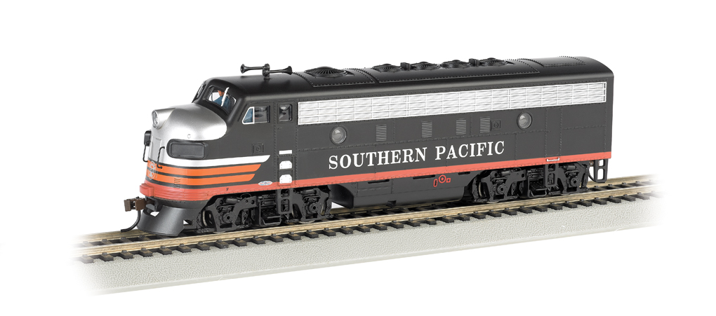 Southern Pacific™ (Black Widow) - F7A-DCC Sound Value (HO Scale)