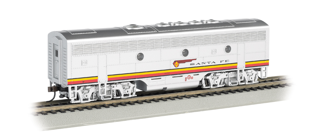 Santa Fe (Red & Silver) - F7B - DCC Sound Value (HO Scale)