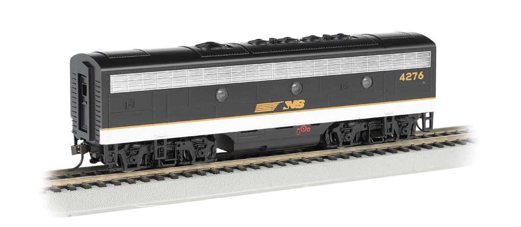 Norfolk Southern #4276 - F7B - DCC Sound Value (HO Scale)