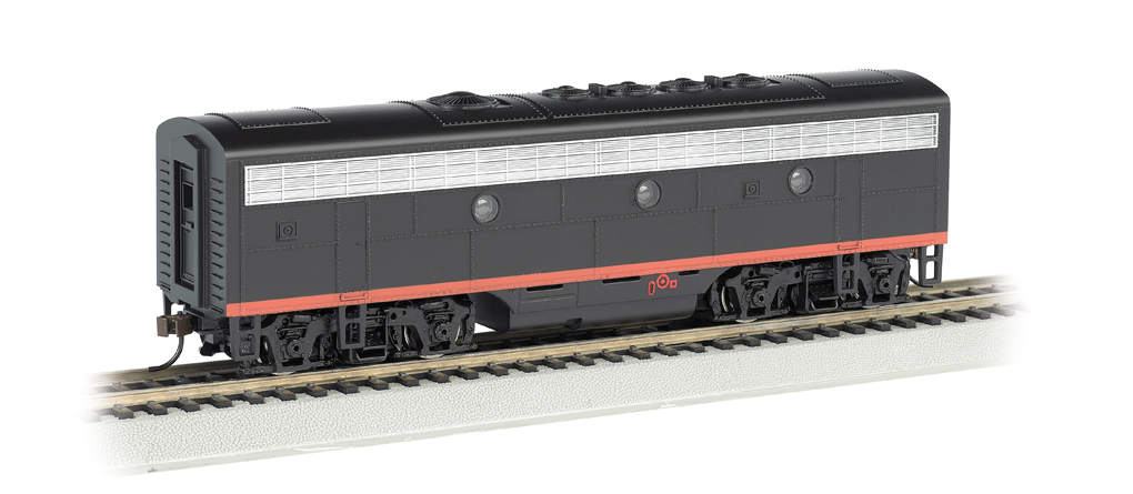 Southern Pacific™ (Black Widow) - F7B - DCC Sound Value