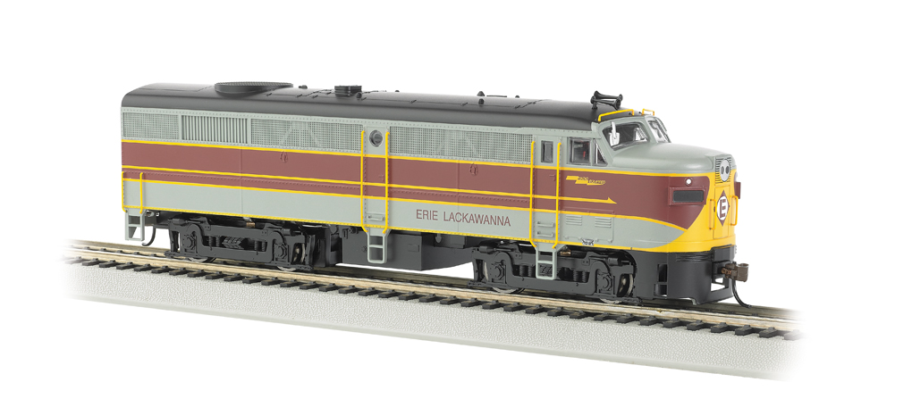 Erie Lackawanna - ALCO FA-2 - DCC Sound Value (HO Scale)