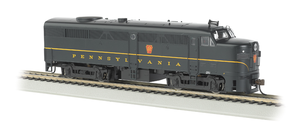 PRR (Single Stripe Keystone) - ALCO FA-2 - DCC Sound Value