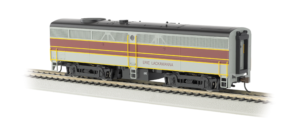 Erie Lackawanna - ALCO FB-2 - DCC Sound Value (HO Scale)
