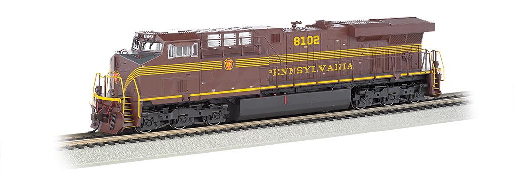 PRR- NS Heritage - GE ES44AC - DCC Sound Value