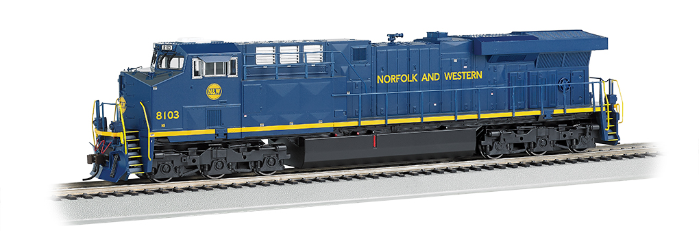 Norfolk & Western - NS Heritage - GE ES44AC - DCC Sound Value