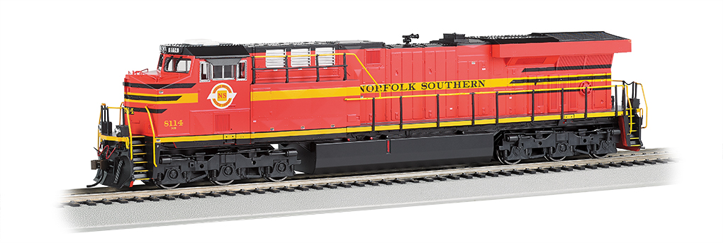 Norfolk Southern Rlwy - NS Heritage GE ES44AC - DCC Sound Value