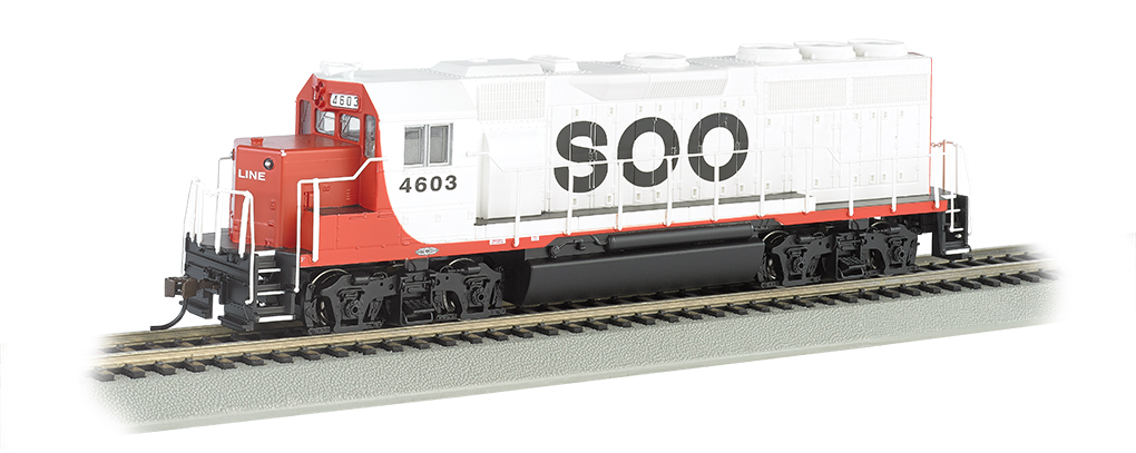 Soo Line #4603 - GP40 - DCC Sound Value