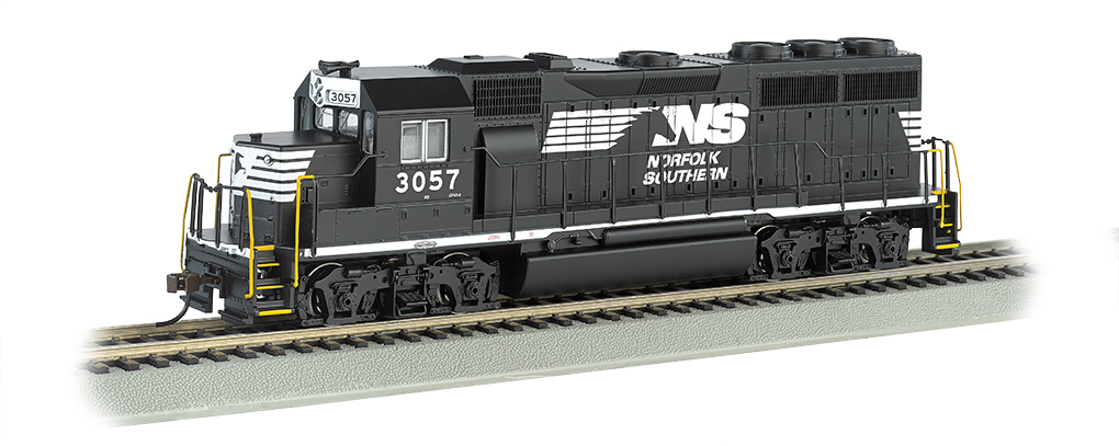 Norfolk Southern #3057 - GP40 - DCC Sound Value