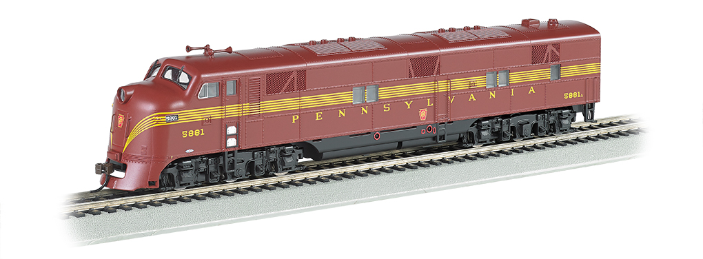 Pennsylvania - Tuscan 5 Stripe E7-A DCC Sound Value