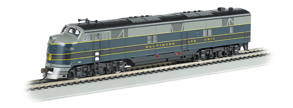B&O® - E7-A DCC Sound Value (HO Scale)